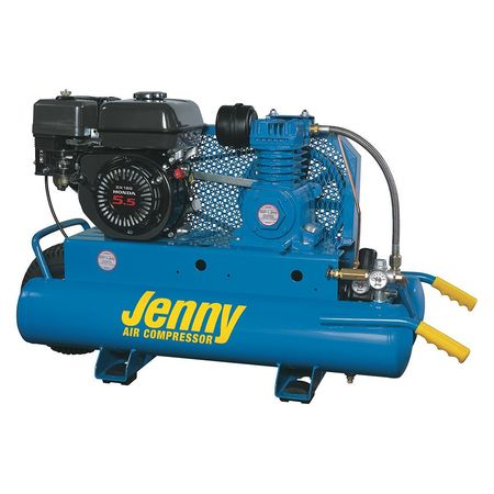 Jenny Gas Air Compressor 8 Gal Tank 5 5 Hp K5hga 8p
