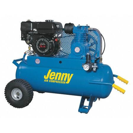 gas air compressor. gas air compressor, 17 gal. tank, 5.5 hp compressor d