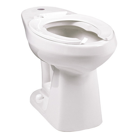 toilet bowl white floor mount adriatic