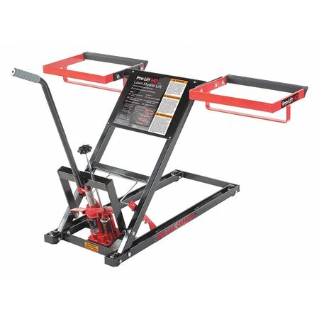 Pro-Lift Lawn Mower Lift, 500 lb. Lifting Capacity T-5305 | Zoro.com