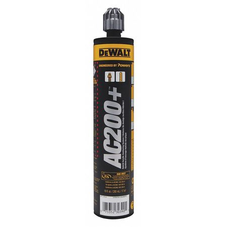 dewalt engineered by powers anchoring adhesive acrylic 10 oz