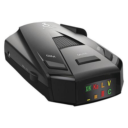 Radar Laser Detector,Black,4-1/8 L