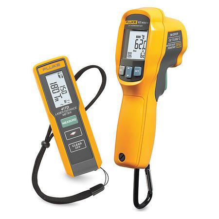 Laser Distance Meter Kit,Backlit LCD