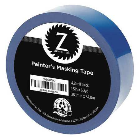 "Painters Tape, Blue, 1 /2"" x 60 yd."