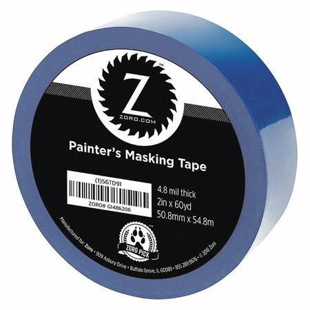 "Painters Tape, Blue, 2"" x 60 yd."