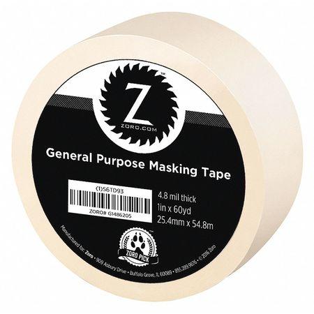 """Masking Tape, General Purpose, 1"""" x 60 yd."""