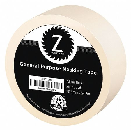 "Masking Tape, General Purpose, 2"" x 60 yd."