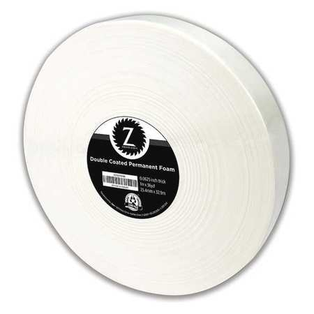"Double Coated Permanent Foam Tape 1"" X 36YD"