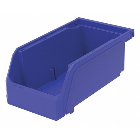 Hang/Stack Bin, 7-3/8 x 4-1/8 x 3, Blue