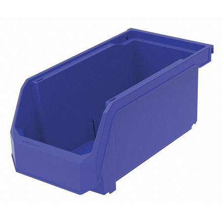 Hang/Stack Bin, 11 x 5-1/2 x 5, Blue