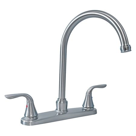 Charmant Kitchen Faucet, High Spout, 2 Handle Swan
