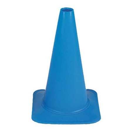 "Traffic Control Cone, 18"", Blue"