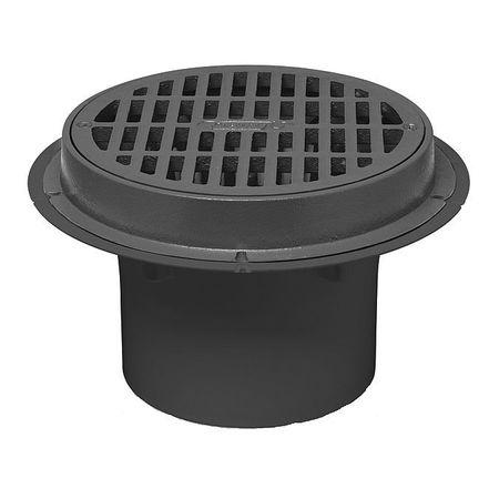 Oatey 78013 2 Quot Or 3 Quot Pipe Dia Pvc Plastic Pvc Roof Drain