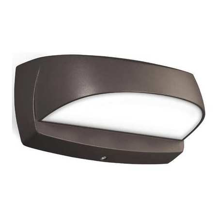 led wall sconce brnz