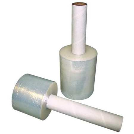 "Stretch Wrap, Clear Cast, 3""x1000ft Roll"