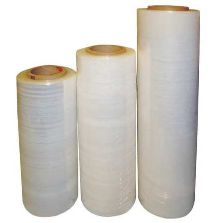 "Stretch Wrap, Clear Cast, 18""x1500ft Roll"