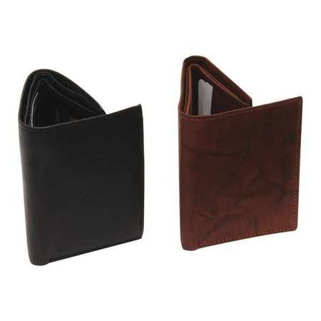 32f0357c96db Blackcanyon Outfitters Tri-Fold, Leather Wallet, Black/Brown 404BKBR |  Zoro.com
