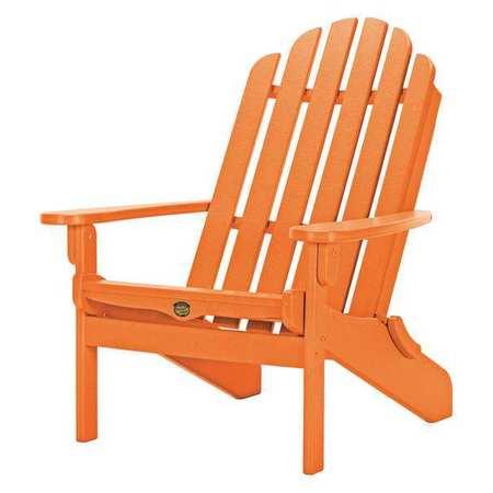 Delicieux Folding Adirondack Chair, Orange