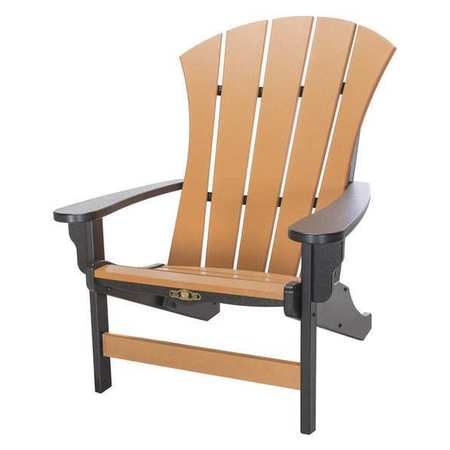 Pawleyu0027s Island Sunrise Adirondack Chair Black Cedar SRAC1BLKCD | Zoro.com  sc 1 st  Zoro.com & Pawleyu0027s Island Sunrise Adirondack Chair Black Cedar SRAC1BLKCD ...