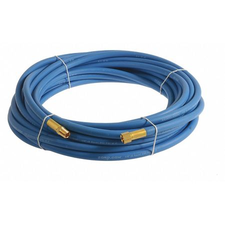 "1/4"" x 20 ft EPDM Coupled Multipurpose Air Hose 250 psi BL"