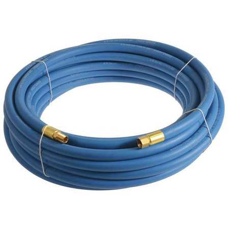 "3/8"" x 20 ft EPDM Coupled Multipurpose Air Hose 250 psi BL"