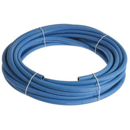 "1/4"" x 25 ft EPDM Bulk Multipurpose Air Hose 250 psi BL"