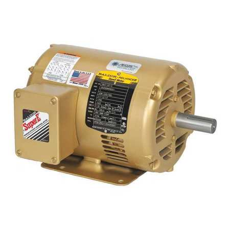 Baldor electric motor 1 hp 1750 rpm 3 phase vem31116 for 1 hp 3 phase motor