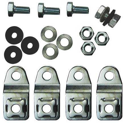 Wallmount Kit, KL/JB, 304 Stainless Steel
