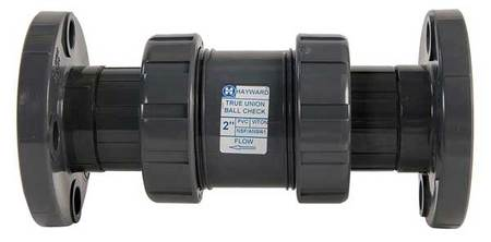 Check Valve, PVC, 6 In., Flanged