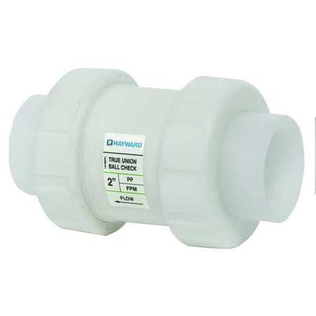 Check Valve, Polypropylene, 2 In.