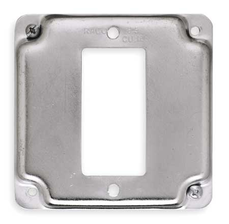 Electrical Box Cover, Square, GFCI, 1Gang