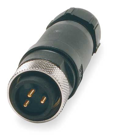 Internal Thread Connector, 3, Male, 16 AWG