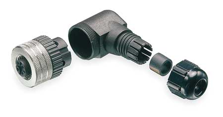 Internal Thread Connector, 4, Female, M12