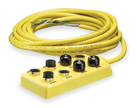 Sensor Wiring Block, 8 Pin, Plug, Male