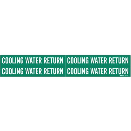Pipe Mkr, Cooling Water Return, 3/4to2-3/8