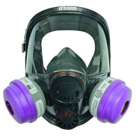 North(TM) 7600 Full Face Respirator, M/L