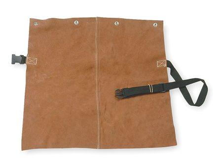 Detachable Welding Bib,  Leather