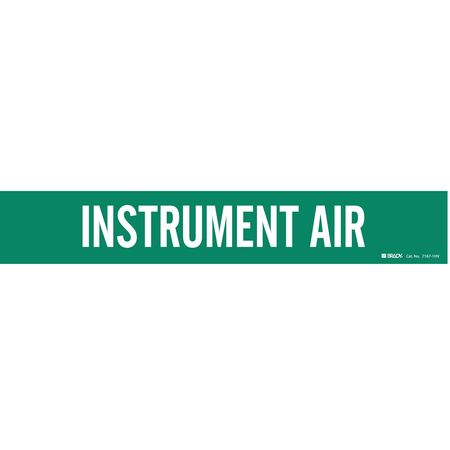 Pipe Markr, Instrument Air, Gn, 8 In orGrtr