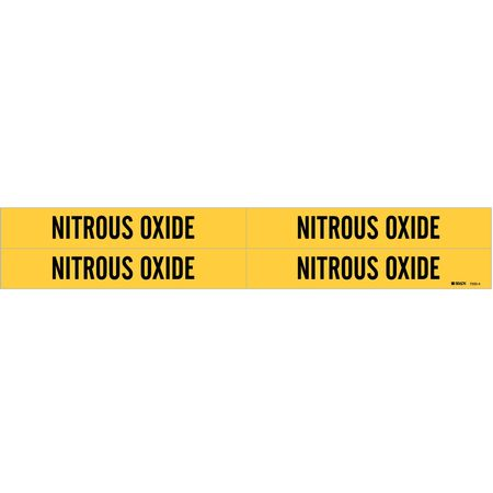 Pipe Markr, Nitrous Oxide, Y, 3/4to2-3/8 In