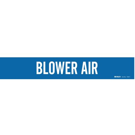 Pipe Markr, Blower Air, Bl, 2-1/2to7-7/8 In