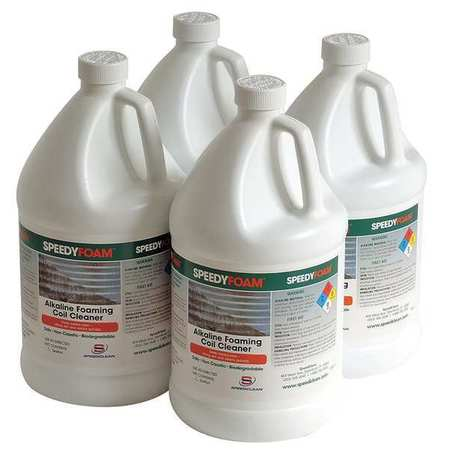 Condenser Coil Cleaner, (4) 1 gal, PK4