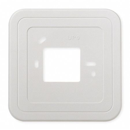 Cover Plate,  Wall Mount,  White,  Plastic