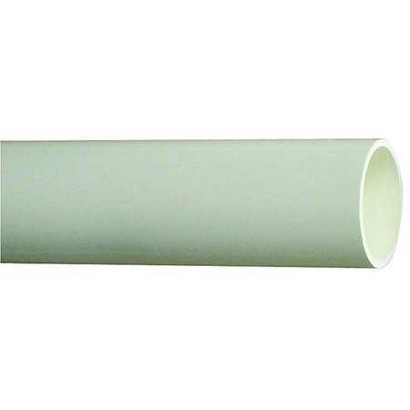 Schedule 40 Pipe, Size 1 1/2 In, 10ft.L