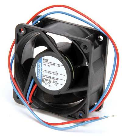 "2-1/3"" Square Axial Fan,  24VDC"