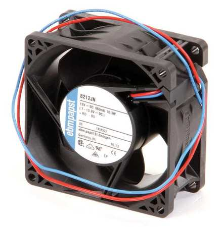 "3-1/7"" Square Axial Fan,  12VDC"