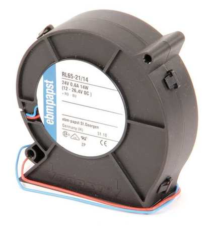 "3-5/8"" Square Flatpack Axial Fan,  24VDC"