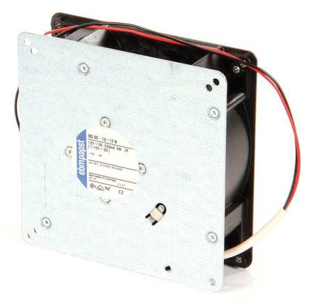 "5-1/3"" Square Flatpack Axial Fan,  12VDC"