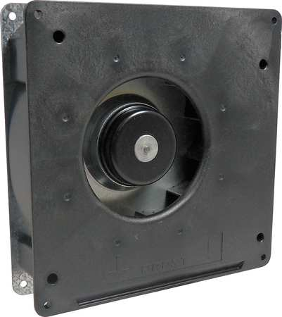 "7"" Square Flatpack Axial Fan,  24VDC"