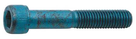 M4-0.70 x 30mm Blue Alloy Steel Socket Head Cap Screw,  50 pk.