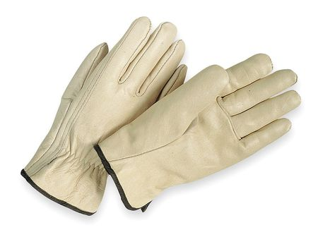 Leather Drivers Gloves, Cowhide, XS, PR